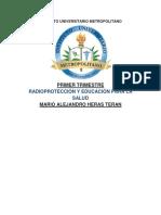 RADIOPROTECCIÓN Y EDUCACIÓN PARA LA SALUD TRABAJO.docx