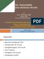 Modul 7_Sistem Manajemen Sumberdaya Manusia Proyek