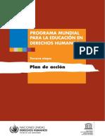 2017 Fase 3 Programa EDH Unesco