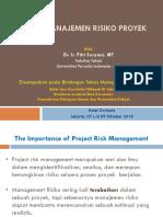 Modul 6_Sistim Manajemen Risiko Proyek