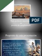 Sermón 7 Profecías