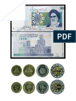 Monedas Iran