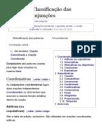 Conjunções - Wikilivros