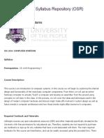 UoPeople Undergraduate Catalog AY2019 11.25
