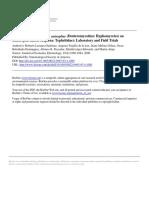 Virulence of Metarhizium Anisopliae (Deuteromycotina Hyphomycetes) on Anastrepha Ludens (Diptera Tephritidae)