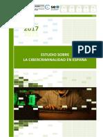 Informe 2017 Sobre Cibercriminalidad en España