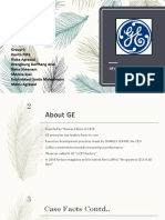 GE Making of CEO