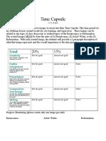 project - time capsule - renaissance   reformation