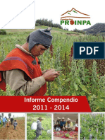 Informe campesino Proinpa