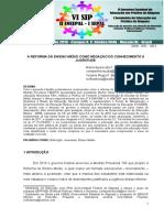 Artigo Para o VI Encontro Internacional de Pedagogia Ufal 2018