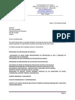 Informe de Entrega de Documentos Segun Check List