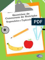 Questões de Concursos de Nutrição - NUTMED