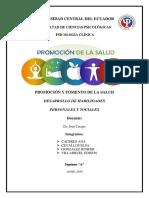 Desarrollo de Habilidades Personales y Sociales