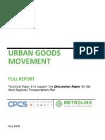 05 Urban Goods Movement Report En