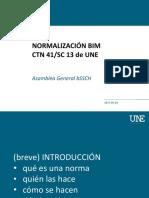 Normalización Bim