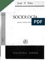 Sociología - Fichter Joseph