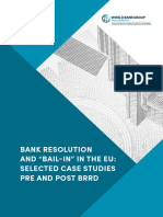 Bank Resolution and Bail-In in the EU