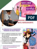 Prevencion Del Embarazo en La Adolescencia 2017