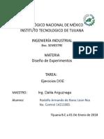 Ejercicios Rodolfo Armando de Barack Leon Rea