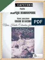 EL CAFETERO. Pasillo. Maruja Hinestroza. Transc. para piano Gerardo Betancourt.