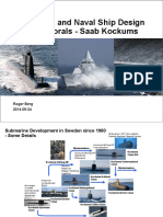 Submarine-&-Naval Ship Design for the Littorals-Saab Kockums
