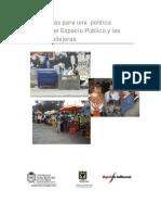 política publica de espacio público (lineamientos)