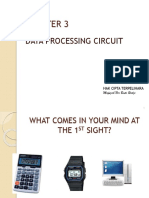 Chapter 3 Data Processing Circuit