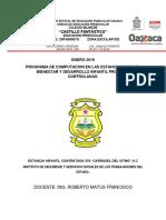 Reporte Mensual Preescolar Enero 2019