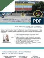 Presentacion de La Escuela Tecnica Industrial Merida 2018