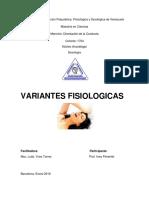Variantes Fisiologicas Frecuentes