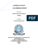 Cover Oligohidramnion