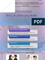 PATOLOGIAS EN SEXOLOGIA
