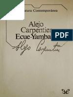 !Ecue Yamba O! Alejo Carpentier
