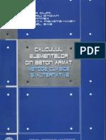 Calculul Elementelor Din Beton Armat - T. Clipii 2007