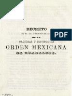 Documento 4 -Orden de Guadalupe