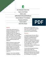 Informe Practica IR de Quimica