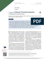 HeparinInduced Thrombocytopenia