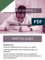 Práctica #1 Gases