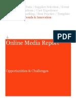 online media report 2011