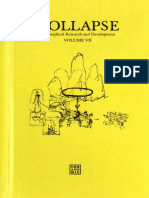 Reza Negarestani, Robin Mackay-Collapse Volume VII_ Culinary Materialism-Urbanomic (2011)