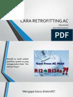 Cara Retrofitting Ac