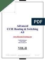 Narbik Ccie r&s Advanced Workbook v4.0 Vol 2