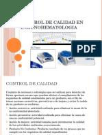 Exposicion Control de Calidad Inmunohematologia 1