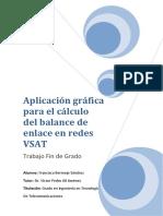 Cálculo Del Balance de Enlace en Redes VSAT