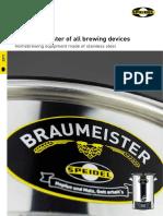 Speidel Braumeister Brochure