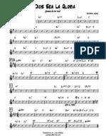 A Dios Sea La Gloria - Cristal Lewis.pdf