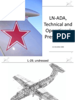 LN-ADA, Technical and Operational Presentation L-29, Undressed (en)