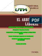 Tarea Arbitraje Laboral DTSS