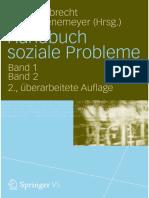 Handbuch soziale Probleme. Günter Albrecht- Axel Groenemeyer