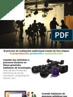 FASES DE LA PRODUCCIÓN AUDIOVISUAL / PRE PRODUCCION